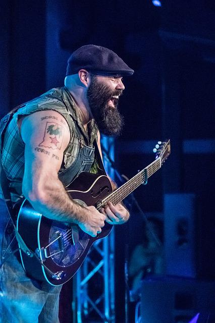 Musician, Guitar, Face, Performance, Event