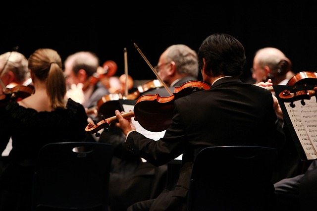 Orchestra, Symphony, Stage, Performing, Performances