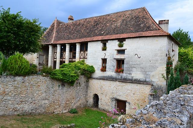 Perigord House, Medieval House, Périgord