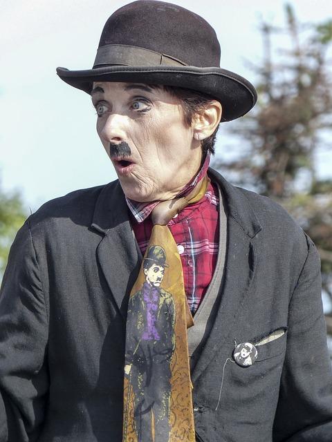 Charlie Chaplin, Man, Human, Person, Actor, Comedian