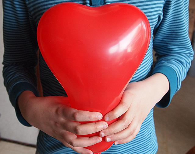 Boy, Person, The Heart Of, Red, Balloon, For You, Young