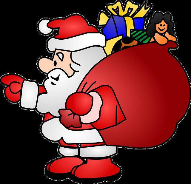 Santa, Man, Noel, Santa Claus, Christmas, Beard, Person