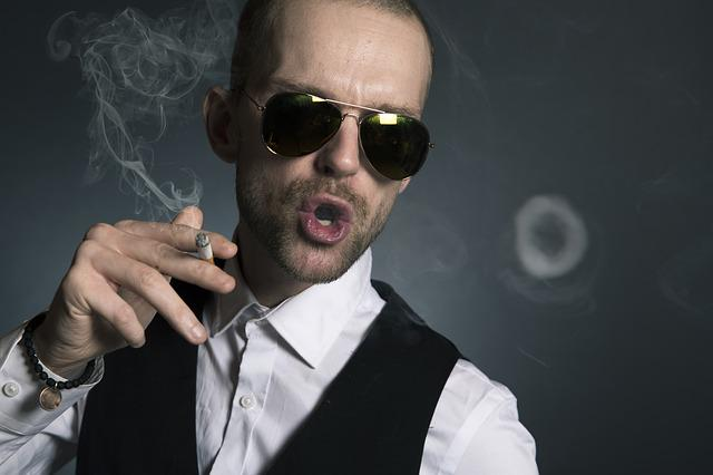 Man, Smoking, Smoke, Cigarette, Face, Person, Tobacco
