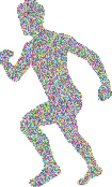 Running, Man, Male, Boy, Silhouette, Human, Person