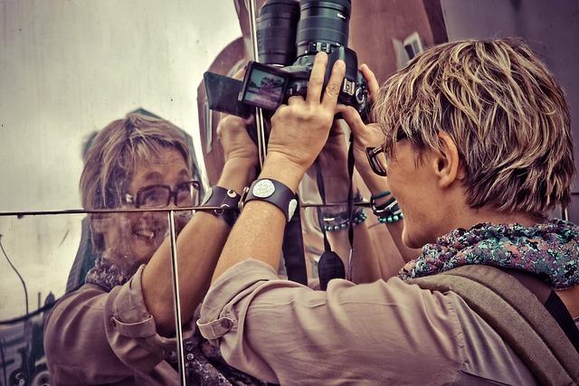 Photographer, Woman, Photograph, Person, Camera, Photo