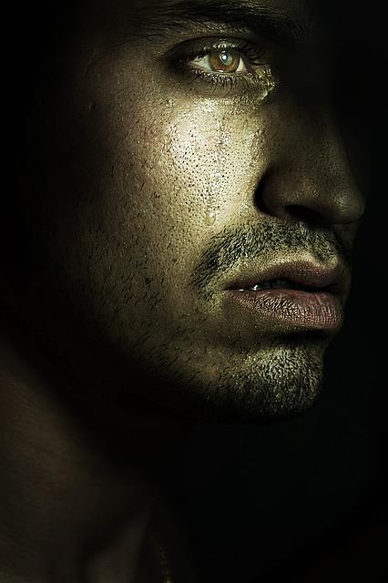 Man, Tears, Tear, Look, Sad, Person, Sadness, Crying