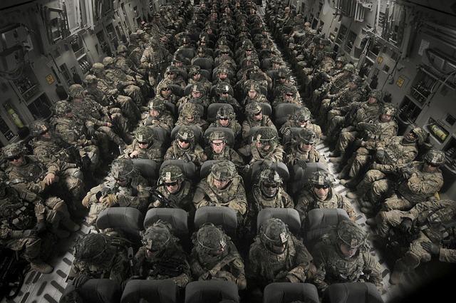 Personnel, Men, Women, Transport, C-17 Globemaster