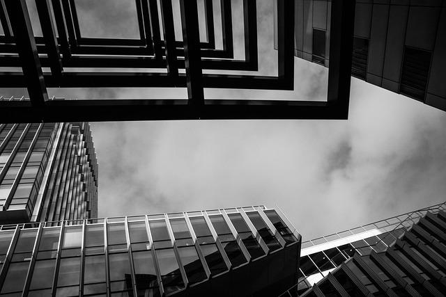 Amsterdam-south, Architecture, Black White, Perspective