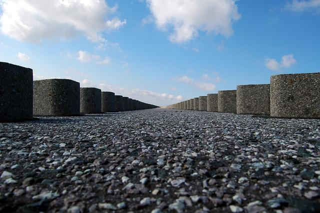 Perspective, Ground, Breakwater, Coast, Sea, Beach