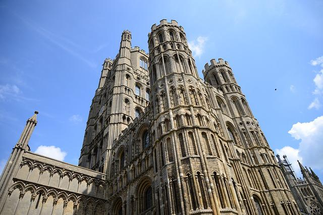 Ely Cathedral, Colossal, Church, Perspective