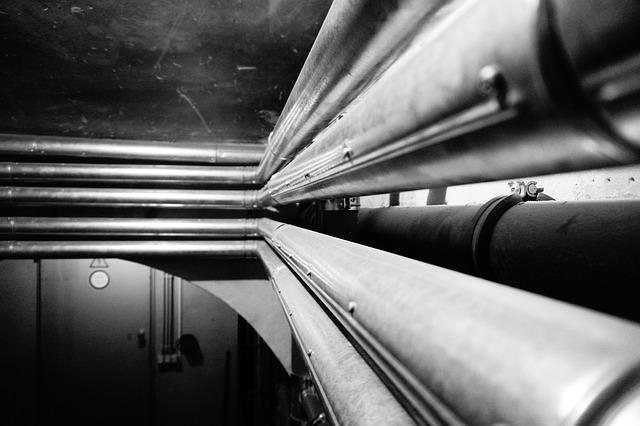 Pipes, Heating Tube, Perspective