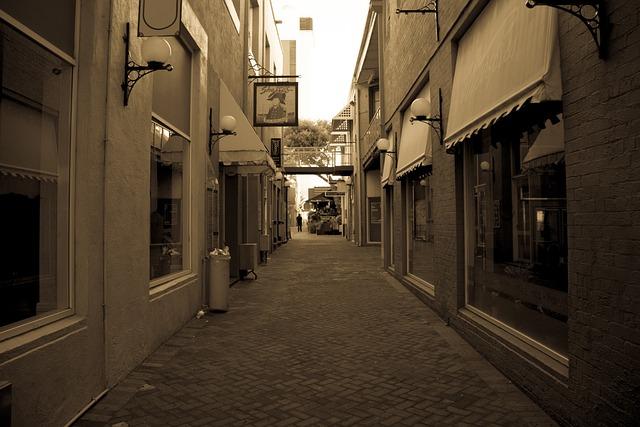 Cobblestone, Old Cobblestone Street, Perth, Building