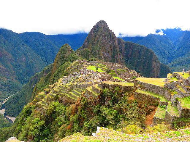 Machu Picchu, Mountain, Peru, Landscape, Vista