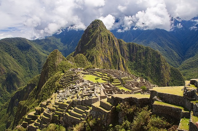 Peru, Mountains, Machu Picchu, Landscape, Nature