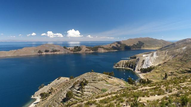 Lake, Titicaca, Peru, Bolivia