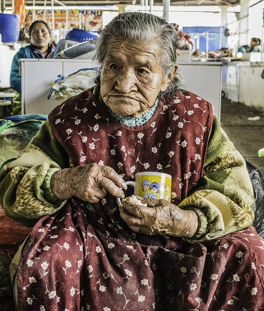 Old Lady, Woman, Old, Female, Elderly, Peruvian, Peru