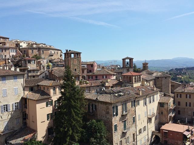 City, Perugia, Italy