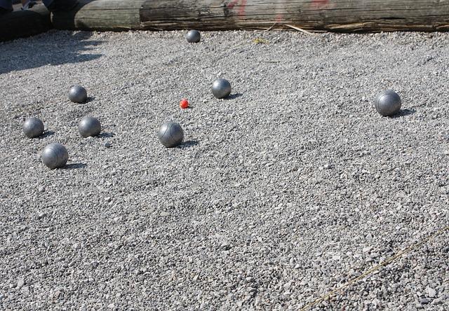 Pétanque, Boule, Sport, Play, Balls, Pebble