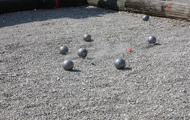 Pétanque, Boule, Sport, Play, Balls, Shoot, Pebble