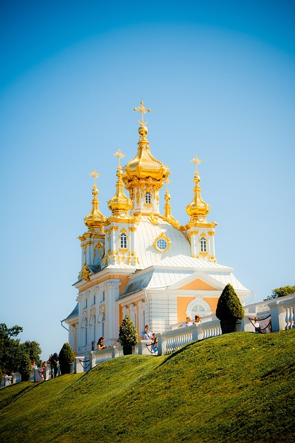 Peterhof, Church, The Church Of Peter And Paul