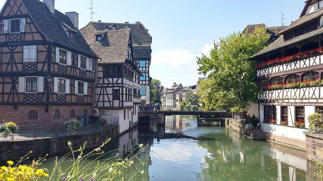 Strasbourg, Alsace, Petite France, Studs