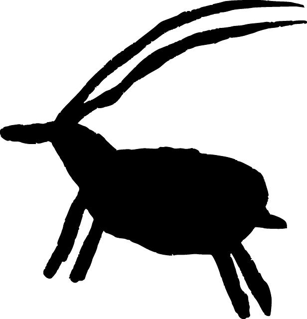 Goat, Iberia, Petroglyph, Spain, Ancient, Animal