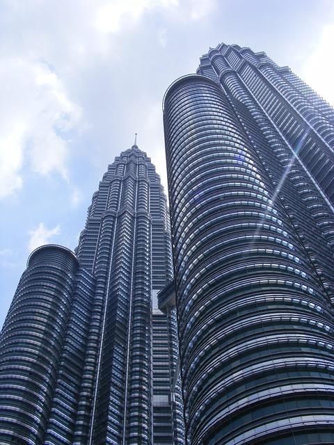 Petronas Towers, Skyscraper, Kuala Lumpur
