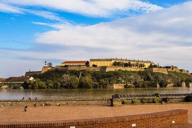 Petrovaradin, Fortress, Danube River, Novi Sad, City