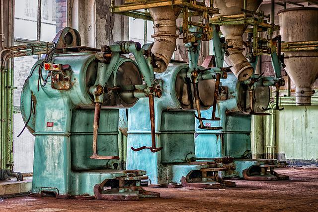 Lost Places, Factory, Machines, Pforphoto, Old Factory