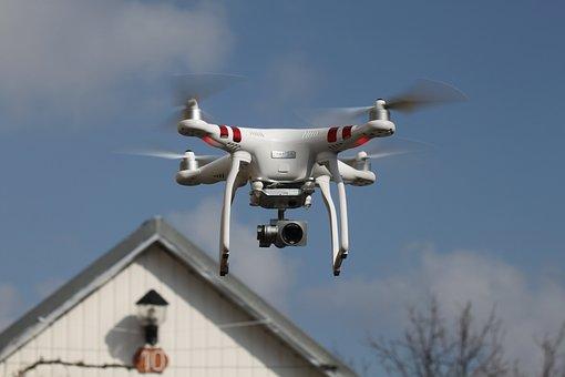 Drone, Espionage, Curiosity, Phantom, Go Pro, Camera