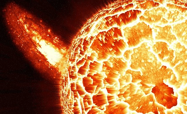 Explosion, Sun, Space, Galaxy, Core, Phenomenon, Heat
