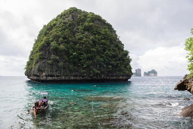 Phi Phi Islands, Phuket, Thailand, Island, Nature