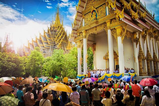 Growth Of Buddhism, Wat Chan West, Phitsanulok