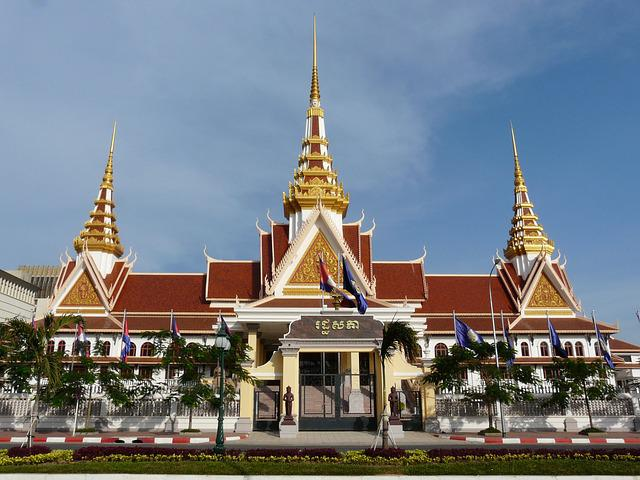 Phnom Penh, Government Palace, Cambodia, Building