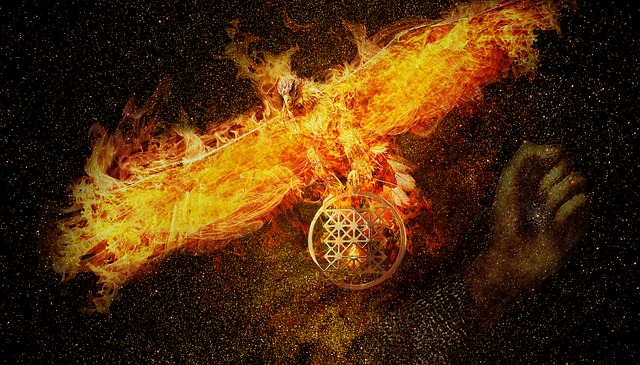 Phoenix, The Power Of, Fire, Energy, Space