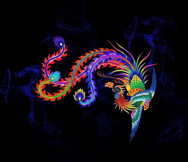 Color, Phoenix, Traditional, Legend, Shenniao, Birds