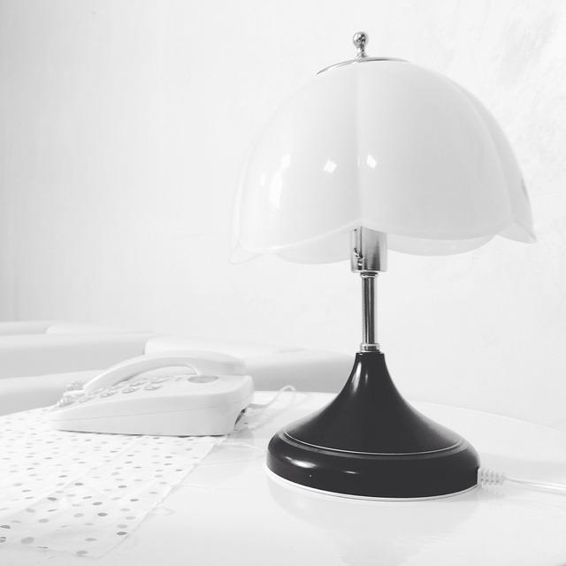 Table Lamp, Beautiful, Furniture, Phone