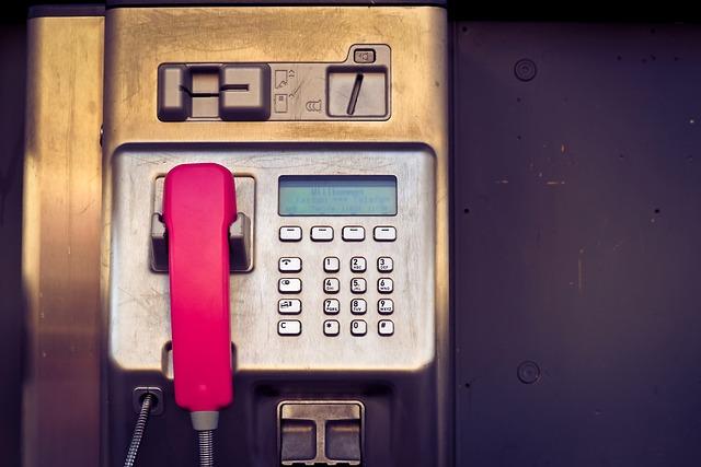 Phone, Keys Phone, Telephone House, Old, Communication