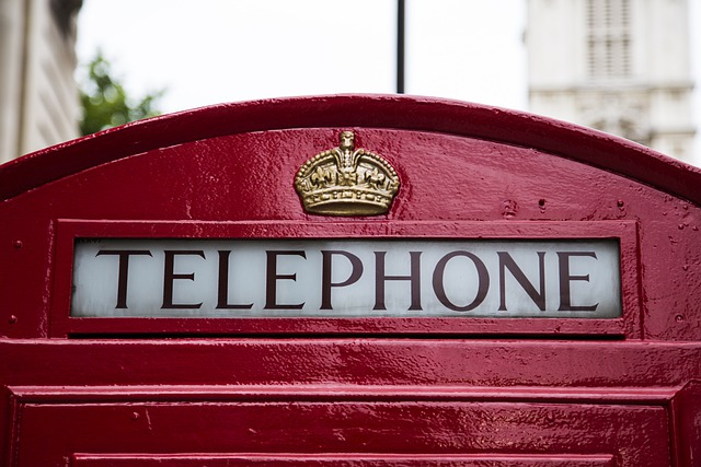Phone Booth, Telephone, Public, Phone, Booth, Red, Logo