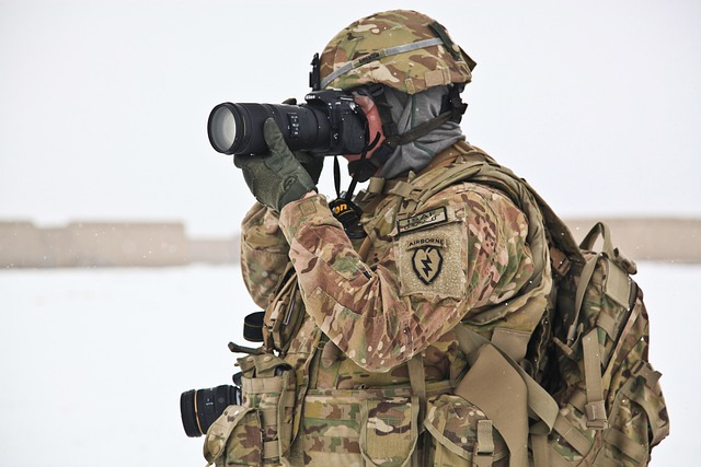 Army, War, Photographer, Soldier, Camera, Photo