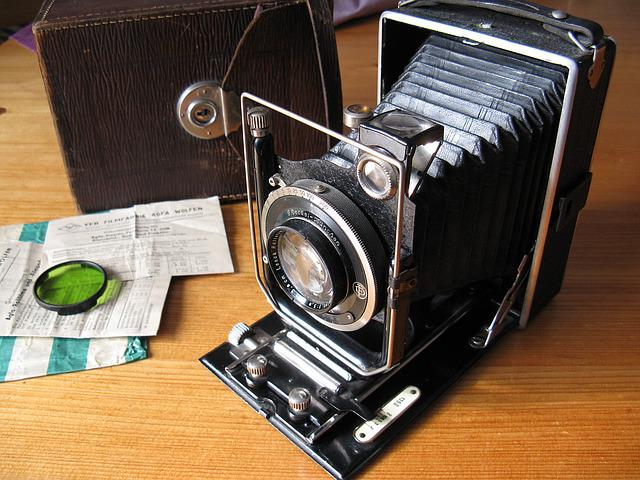 Old Camera, Camera, Balgenkamera, Photo Camera, Close