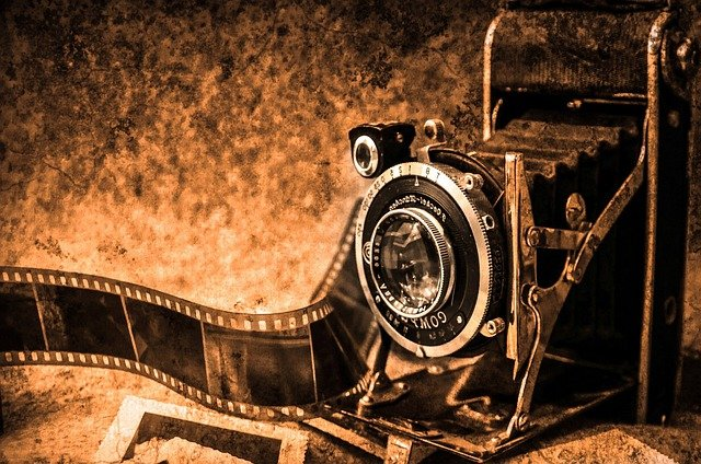 Photo Camera, Photography, Old, Retro, Film, Photo
