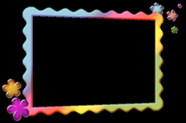 Frame, Photo Frame, Colored Frame, Children, Bright