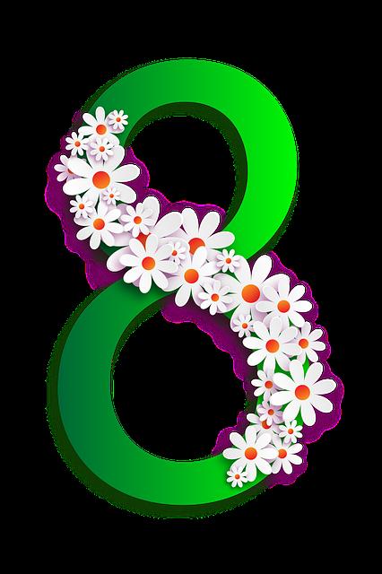 Eight, Green, Frame, Photo Frame, Congratulation