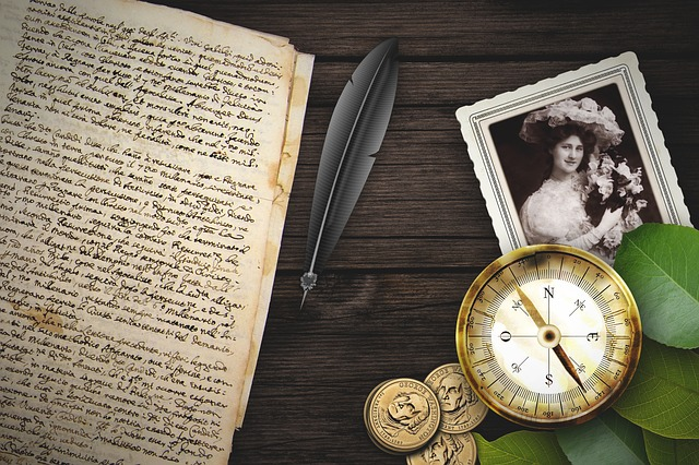 Old, Compass, Paper, Coin, Font, Photo, Wood