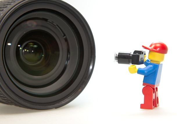 Photographer, Lens, Lego, Photo, Photo Studio
