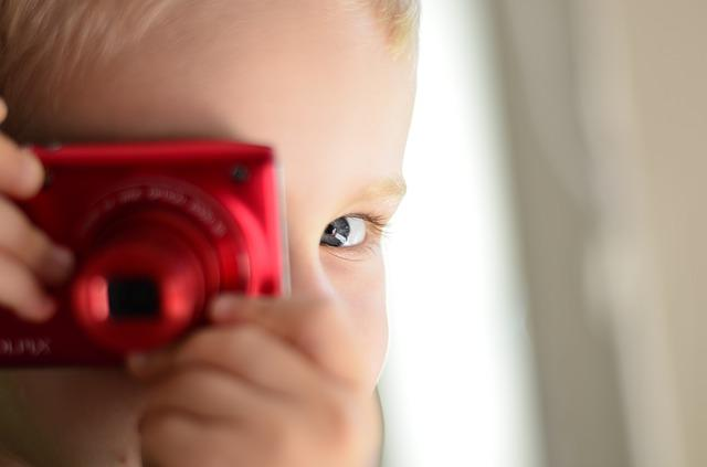 Child, Camera, Photographer, Photograph, Face, Boy