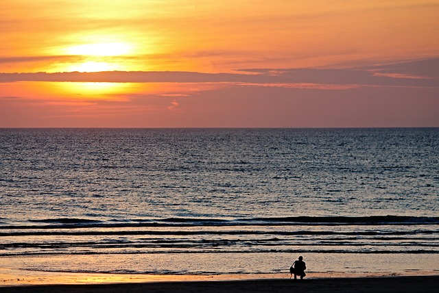 Beach, Photographer, Abendstimmung, Photograph