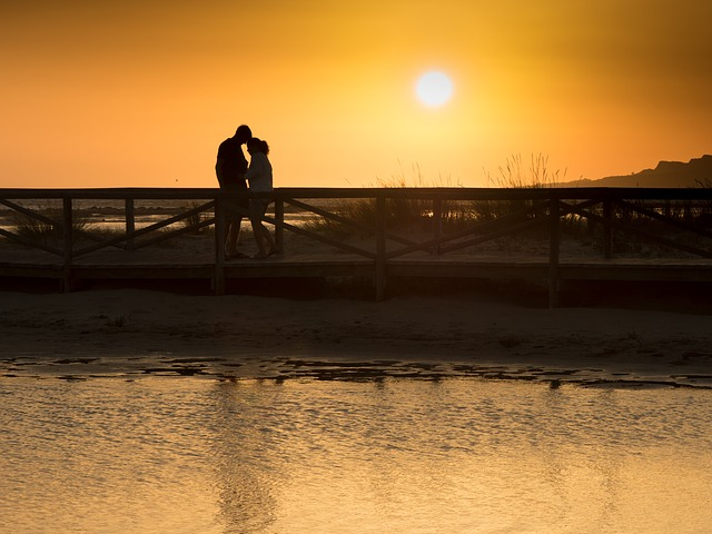 Love, Dawn, Beach, Clouds, Sky, Sun, Rock, Photographer