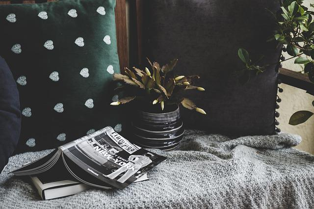 Stilllife, Cozy, Plant, Books, Photography Books